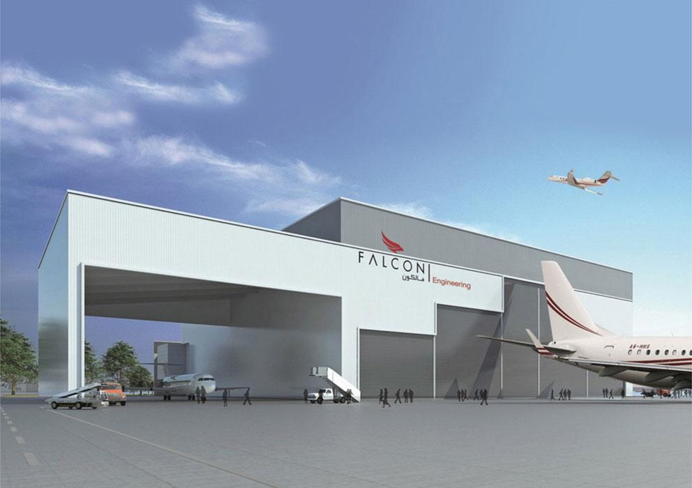 Falcon Aviation Hangar